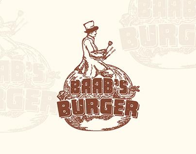 Brand Identity - Baab's Burger
