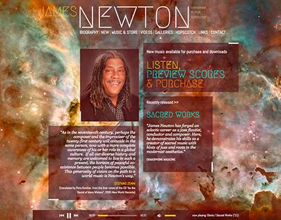 James Newton Branding & Website