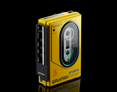 ▼▲ Once In A While Renders № 81 Sony Sports Walkman