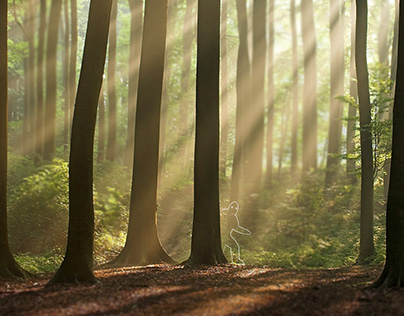 not yet yeti in da forest