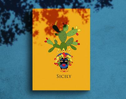 Illustration for Sicily Book