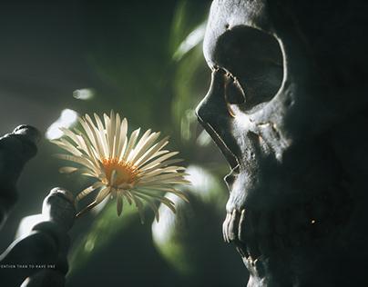 Skeleton series - colorful world(骷髅系列-花花世界)