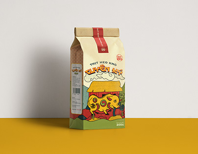 Tuyen Ky Jerky Packaging Design