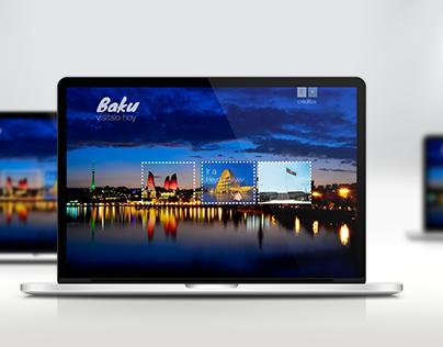 Multimedia para proyecto turístico ciudad Baku