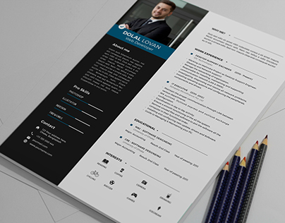 Clean & Simple Resume Template Design