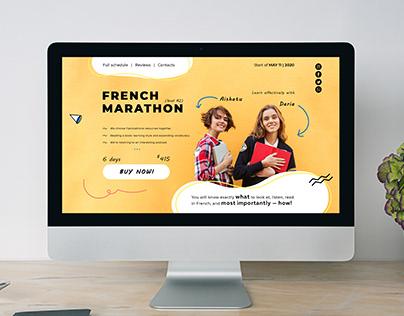 Online French Marathon.