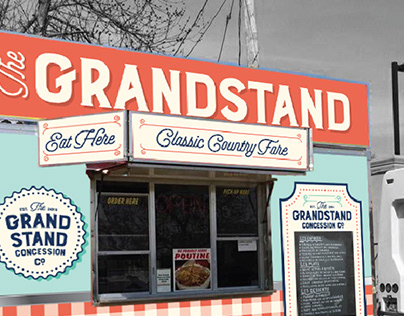 Grandstand Food Truck Graphics