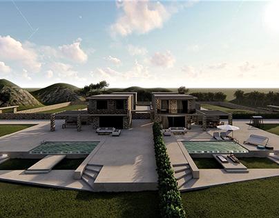 Sani 4 Villas