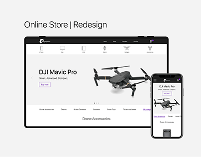 Online store Redesign