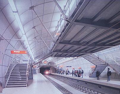Señalética Metro Bilbao
