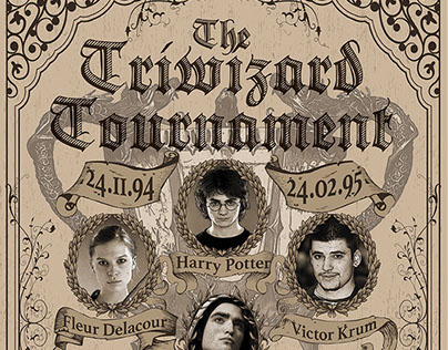 The Triwizard Tournament Poster