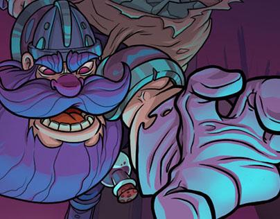 Dwarfs'n Goblins Illustration