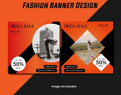 Fashion Banner Design