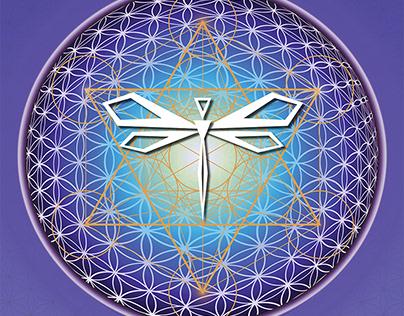 Dragonfly Zen Logo Design