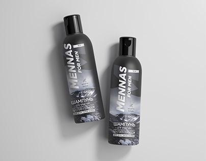 Shampoo Mennas for men | label