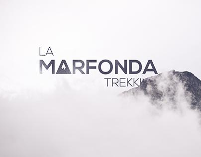 Logo for a trekking shop