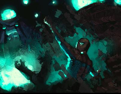 Spiderman Study