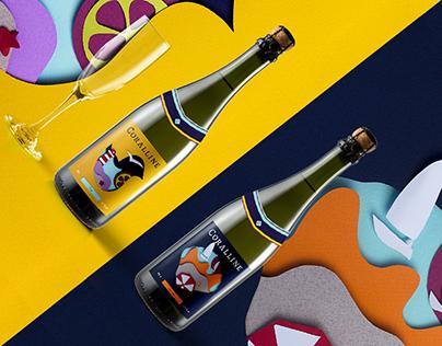 CORALLINE sparkling wine