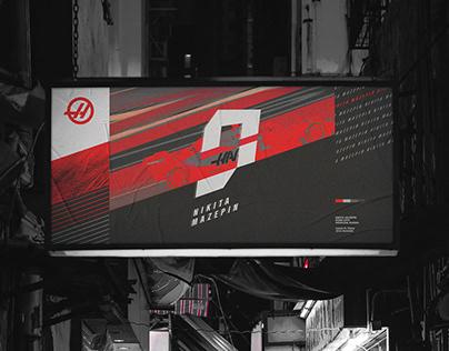 Nikita Mazepin // Logo Design
