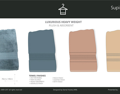 textile towel design