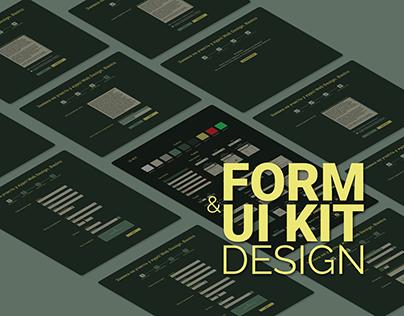 Form & UK Kit design for web design courses