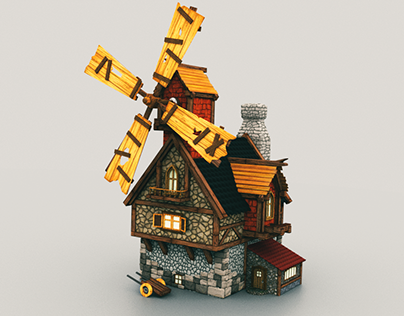 3D Model and animation of the house
