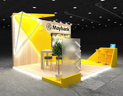Exhibition stands 2019 (Maybank - 5x4)