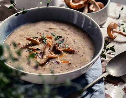 More Than Mushroom Soup