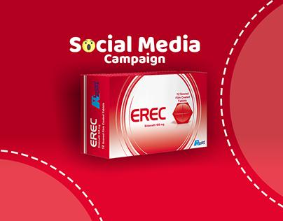 Erec social media campaign