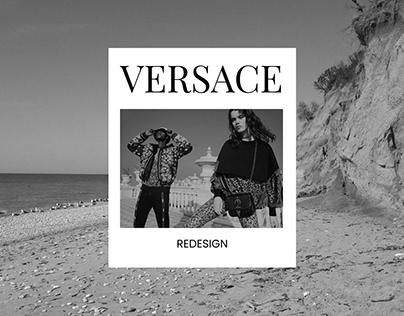 Versace (2021) — Online Store