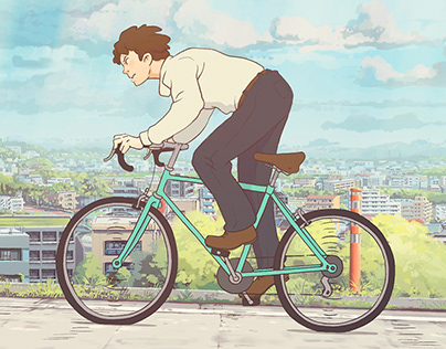 Bicycle Boy Animation