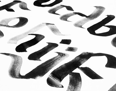 Calligraphy Experiments (learning journey)