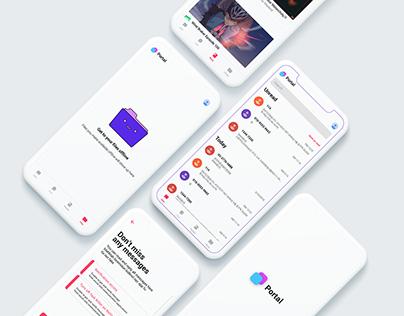 Portal App Design