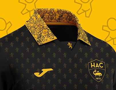Concept kit Havre AC Football Joma soccer design Gouzou