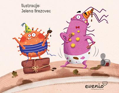 Mrljek i Prljek slave fujkasti rođendan