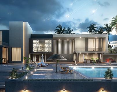 Modern Villa Design (Final_Project)