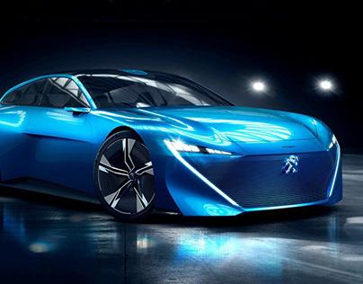 Peugeot Instinct Concept Car Re-Edited ad