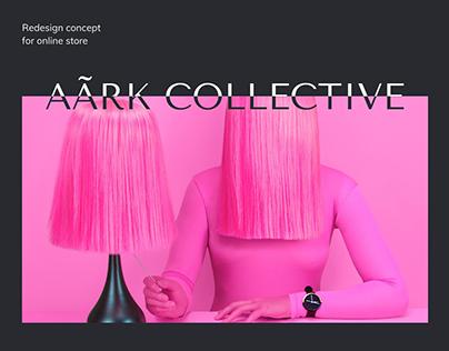 AÃRK | Online store redesign