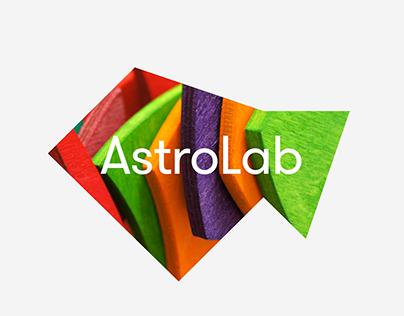 AstroLab – Brand Identity