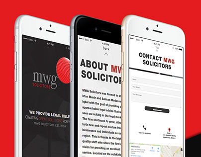 MWG Solicitors - Temporary Landing Page