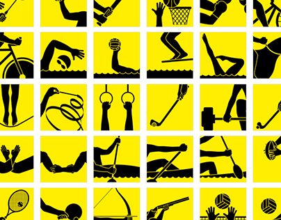 Olympic Games Icons (Project)