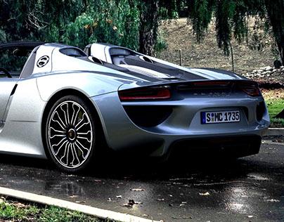 Rendering / Porsche 918