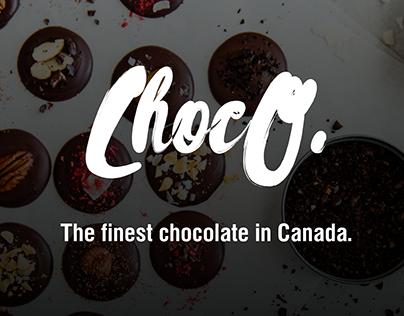 Handmade chocolate website