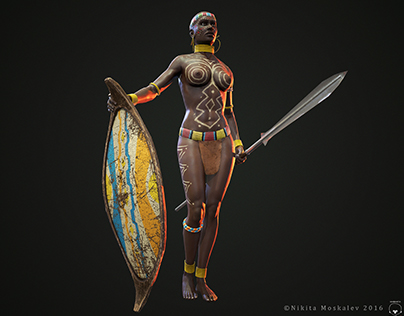 The Warrior Of Africa