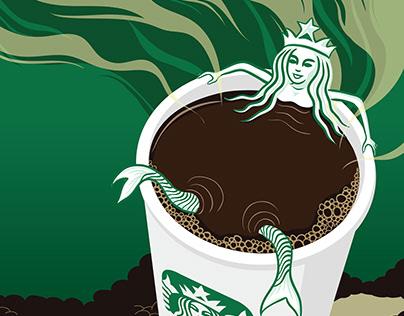Starbucks Fan Art
