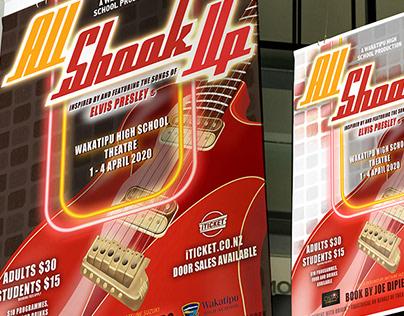 ALL SHOOK UP - Musical Branding Design