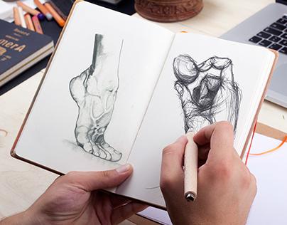 sketchbook / Drawing / office / work / breathing-space