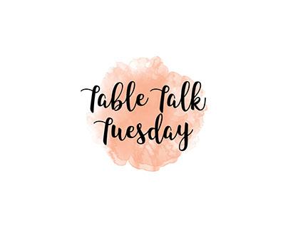 Table Talk Tuesday Logo