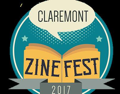 Claremont Zine Fest 2017 -Promotional Materials