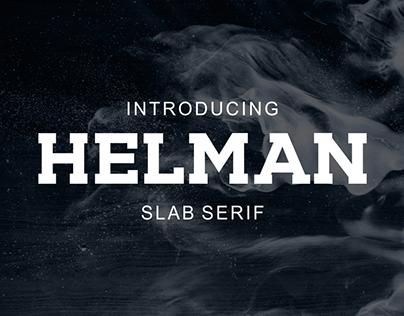 Helman slab serif